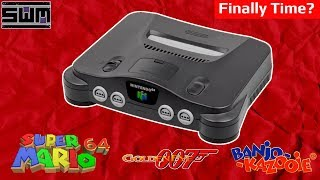 is the n64 mini coming soon? a new clue could be pointing to an announcement news wave extra