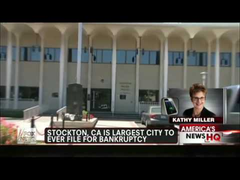 California cities going bankrupt
