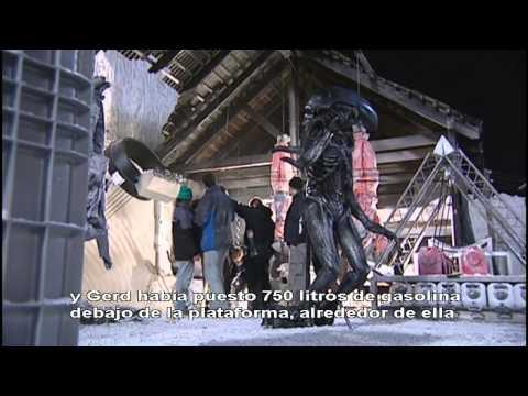 Como Se Hizo: Alien vs Predator. Subtitulado En Español
