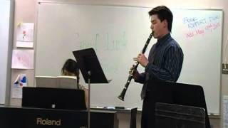 2012 Solo and Ensemble festival Mozart Concerto for Clarinet 1st movement