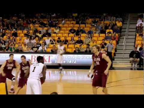 Appalachian State's Jay Canty dunk vs Elon (Boone NC)
