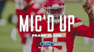 """Frank clark mic'd up: """"we came, we saw, conquered"""" 