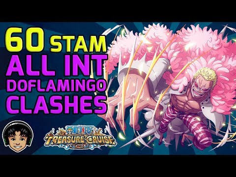 Walkthrough for ALL INT Doflamingo Clashes (Fighter, Striker, Cerebral) [One Piece Treasure Cruise]