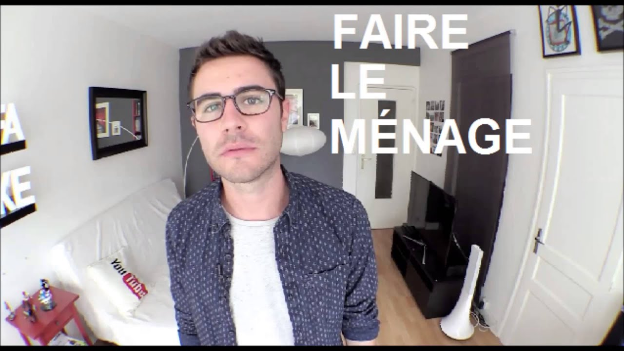 cyprien faire le m nage youtube. Black Bedroom Furniture Sets. Home Design Ideas