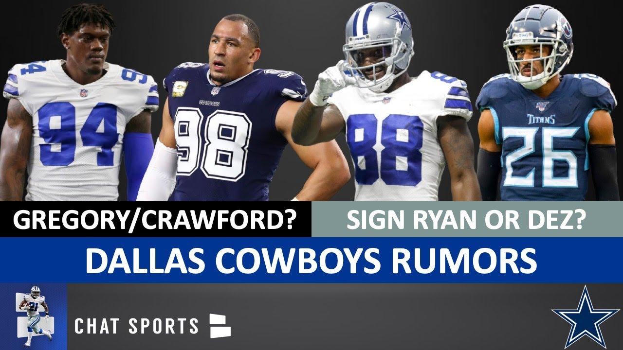 Cowboys Rumors: Everson Griffen Impact On Tyrone Crawford & Randy Gregory + Sign Logan Ryan or Dez?