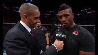 UFC Minneapolis: Alonzo Menifield Octagon Interview