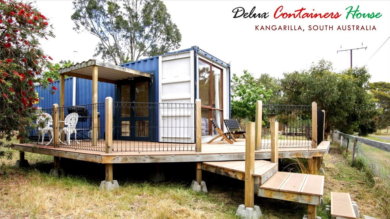 Shipping Container Tiny House In Kangarilla South