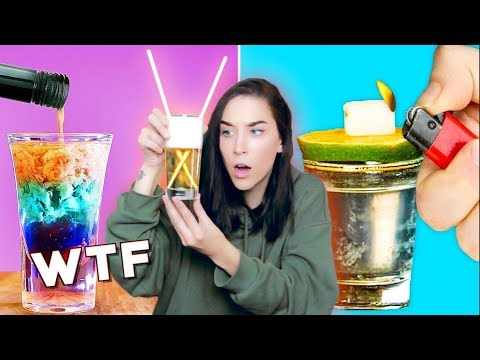 MAKING FIVE MINUTE CRAFT COCKTAILS