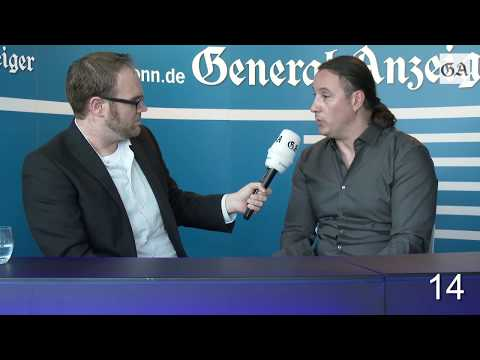 Der heiße Stuhl: Alexander Neu (Die Linke), Bundestagskandidat für den Rhein-Sieg-Kreis