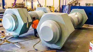 Incredible Giant Bolts Manufacturing Process & Other Amazing Factory Machines Production Technology