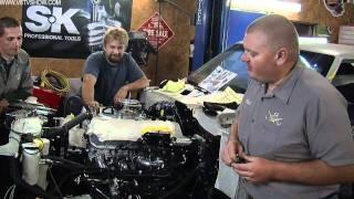 1968 Camaro Countdown to SEMA 2011 V8TV Video: IT'S ALIVE! The 490 Big Block Chevy V8 Runs!