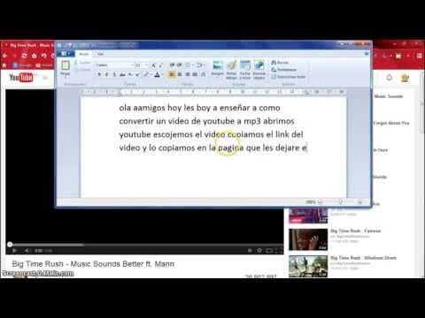 como convertir un video de youtube a mp3