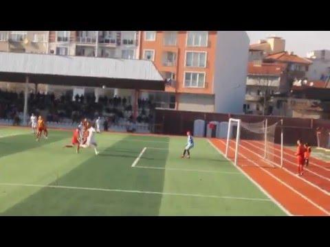 Çan Spor Yenice Maçında Kaleci Sercan Süper Oynadı