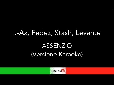 KARAOKE COVER - J-AX - FEDEZ - STASH - LEVANTE - ASSENZIO