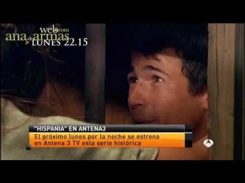 Ana de Armas. Estreno de Hispania (Antena 3 Noticias 2)