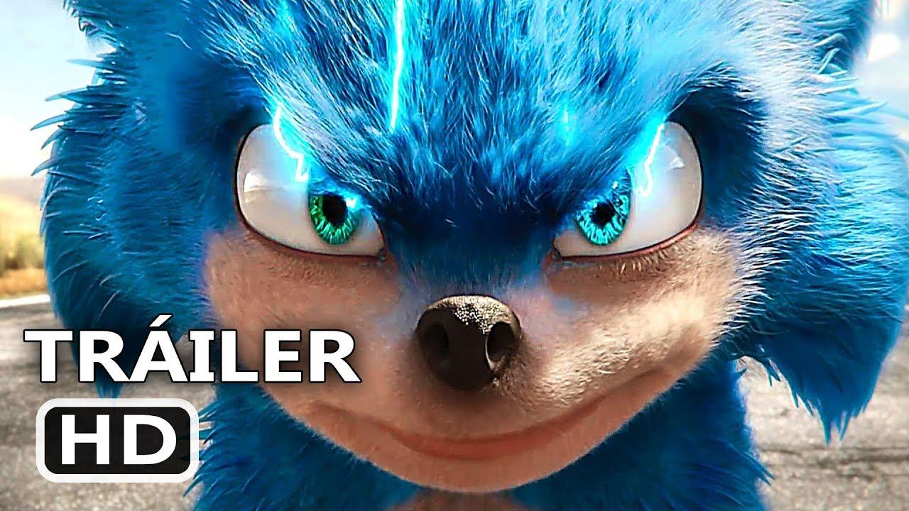 Sonic La Película Tráiler Español Latino Doblado 2019