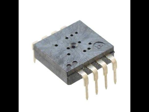 Снимаем показания с сенсора мышки с помощью микроконтроллера ATMega через SPI