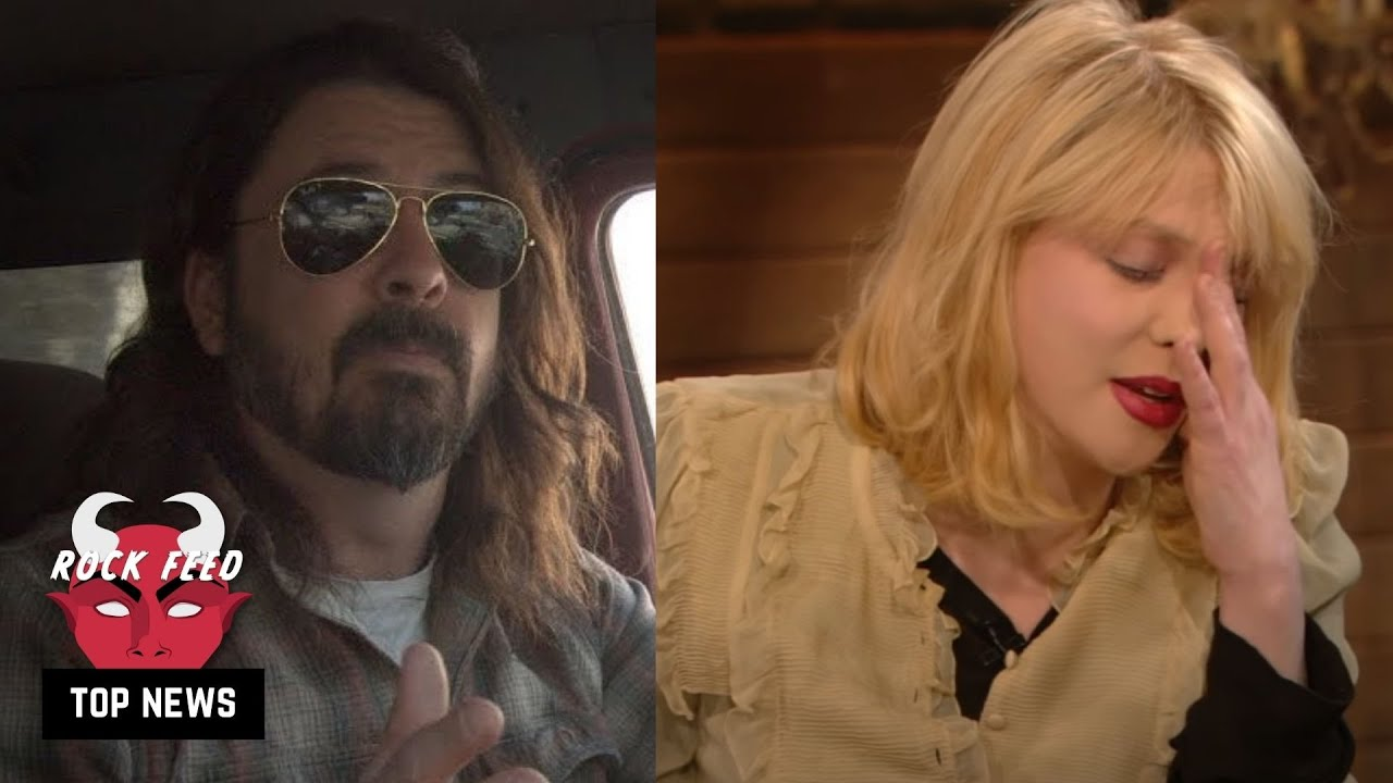 Courtney Love's Awkward Dave Grohl Apology