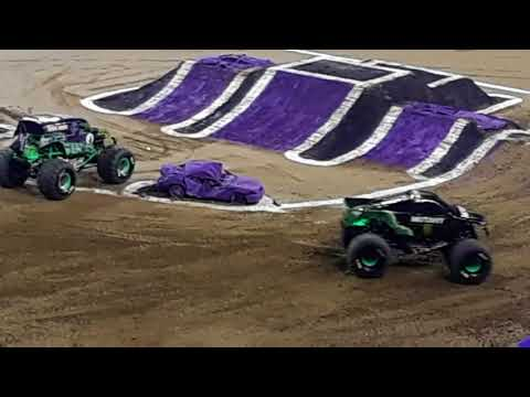 Monster Jam 2018 at LUCAS OIL STADIUM (INDIANAPOLIS INDIANA)
