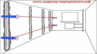 Видео урок установки оцинкованных маяков вертикальным способом(Быстрая и точная установка оцинкованных штукатурных маяков, вертикальным способом на стены., 2014-07-02T10:26:09.000Z)