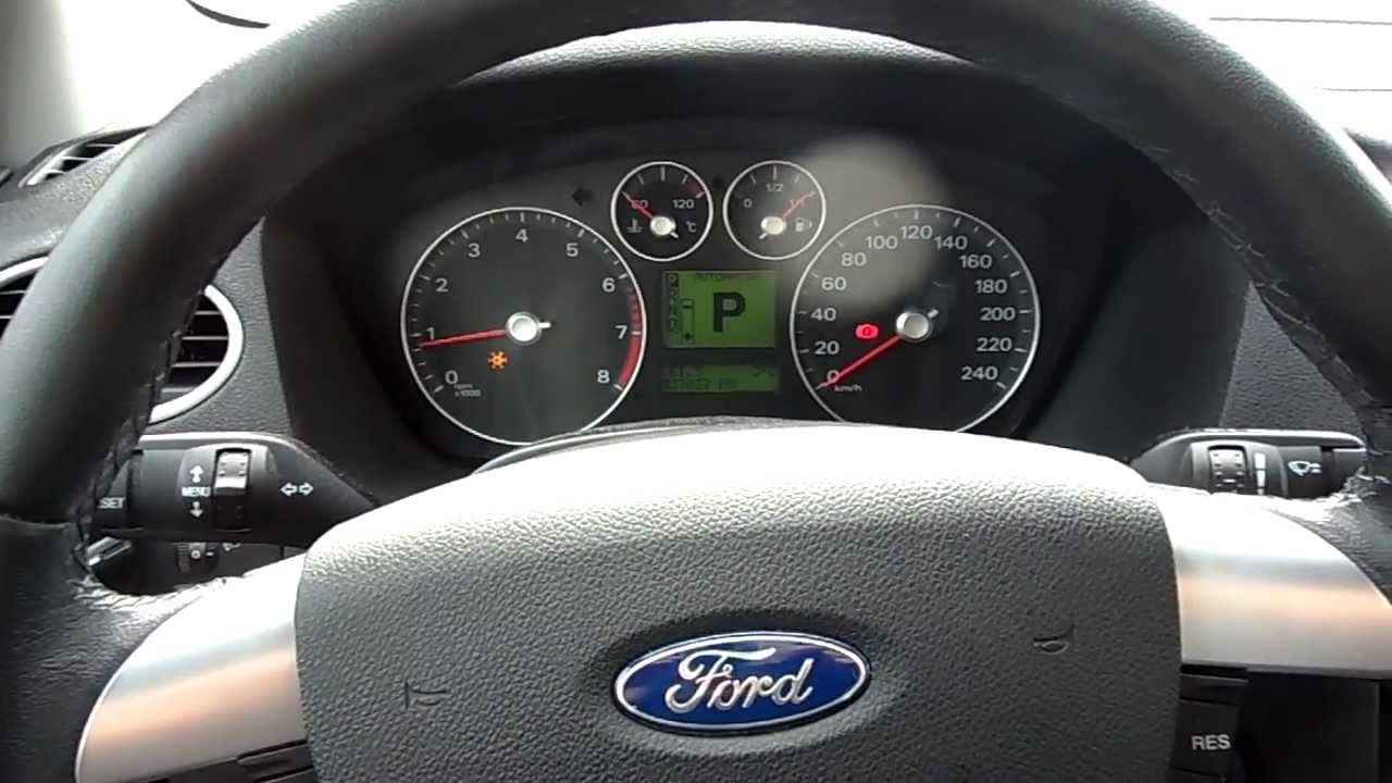 2006 ford focus 1 6 automatic youtube for Ford focus 2006 interieur