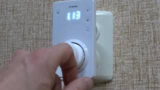 Обзор и настройка terneo srz терморегулятор розеточный электронный