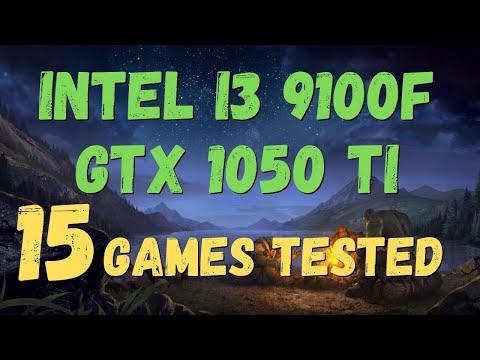 I3 9100F GTX 1050 Ti TEST IN 15 GAMES