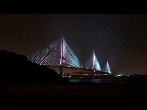 Lighting Up The Queensferry Crossing