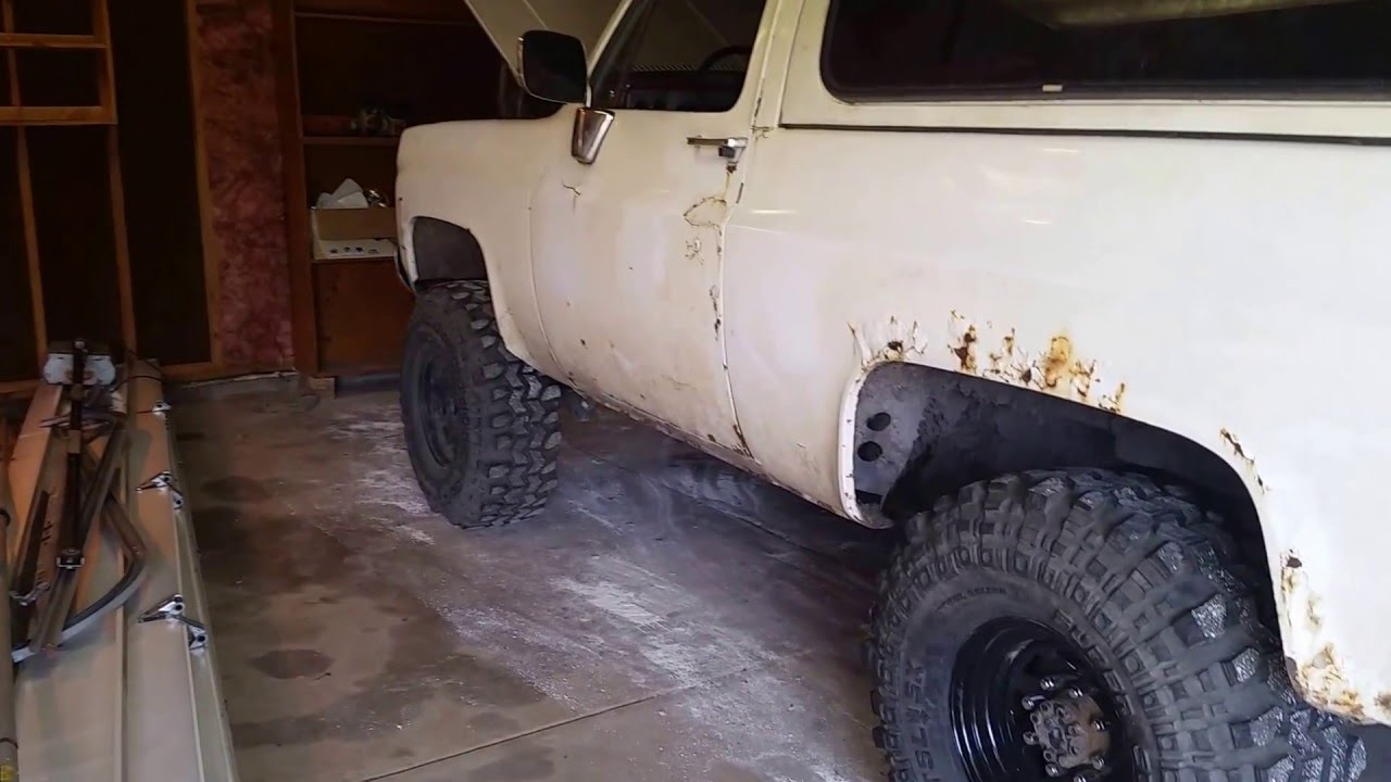 1977 Gmc Jimmy 350 sbc with trick flow top end kit