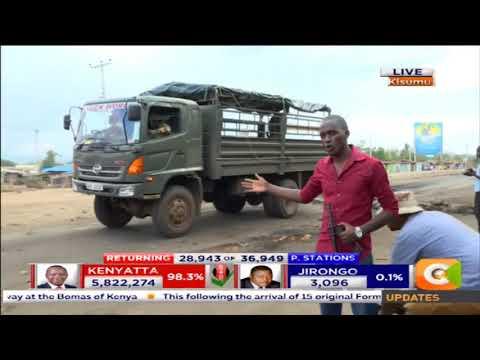 Police vs Demonstrators[Kisumu edition]