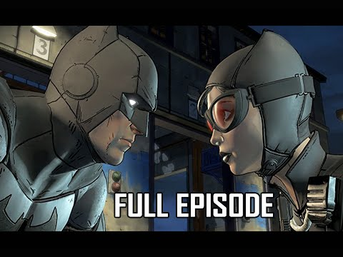 Batman Telltale Walkthrough - Full Episode - Episode 1 Realm of Shadows (PC Let's Play)