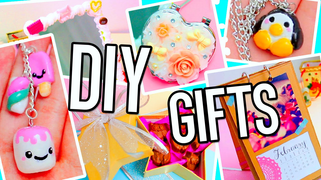DIY Gifts Ideas! Cute & cheap presents: for BFF, parents ...