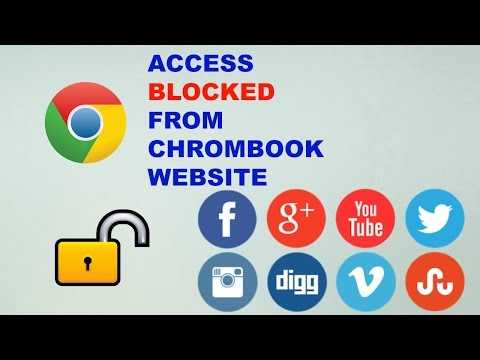 How to access blocked websites at school on chromebook(EASY):How2s