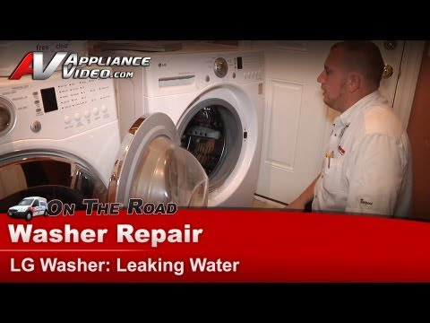 lg-washer-repair-&-diagnostic---leaking-water-from-front-&-bottom-seals---wm2101hw