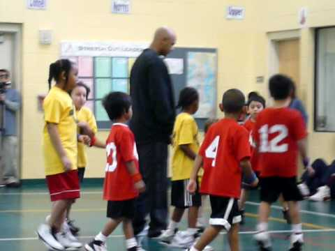 Super Star Kids Playing Basketball