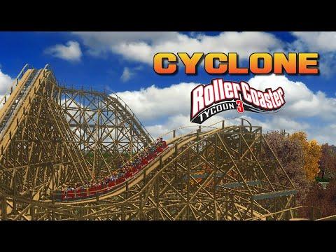 RCT3] Cyclone - Dinn Corporation Wooden Coaster CT - Wilhelm1407