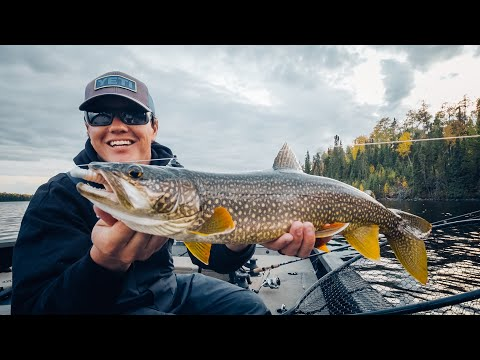 Custom Made Lures For SHALLOW Fall Lake Trout