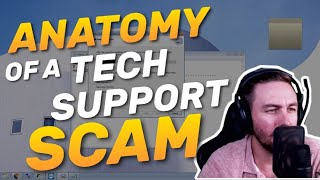 MICROSOFT TECH SUPPORT SCAM EXPOSED | SYSKEY ON GRANDPA