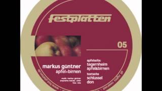 Markus Güntner -- Äpfel Und Birnen