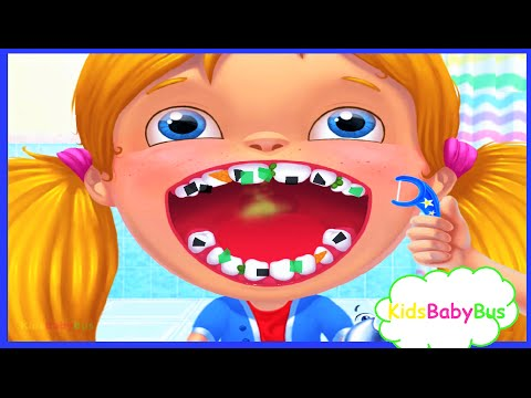 HAPPY TEETH - EAT HEALTH, Children Learn How To Care For Their Teeth | Care Game For Kids & Parent