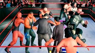 Королевская битва в WWF Royal Rumble (Dreamcast)