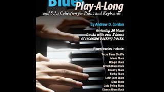 The Blues Play-A-Long and Solos Collection for Piano/Keyboards from www.jazzbooks.com