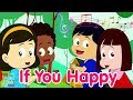 If You Happy And You Know It | Nursery Rhyme | Lagu Anak Channel