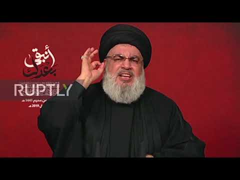 Lebanon: 'No More Red Lines' In Resistance Against Israel - Nasrallah