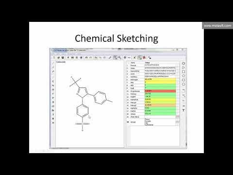 ICM-Chemist Webinar: Chemical Spreadhsheets and Molecular Editor