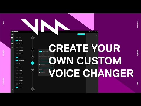 How to Create a Custom Voice Changer Using Voicemod VoiceLab
