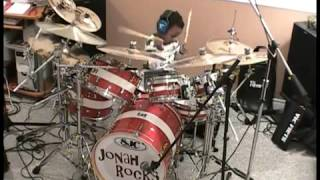 little kid rocking it System of a Down   Toxicity, Drum Cover, 5 Year Old Drummer, Jonah Rocks