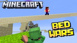 ЗЕЛЁНЫЙ ИГРАЕТ В ПРЯТКИ - Minecraft Bed Wars (Mini-Game)