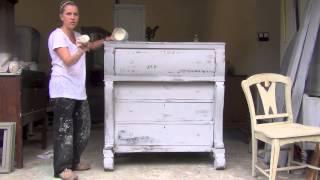 Blue Egg Brown Nest Annie Sloan Chalk Paint Tutorial #3
