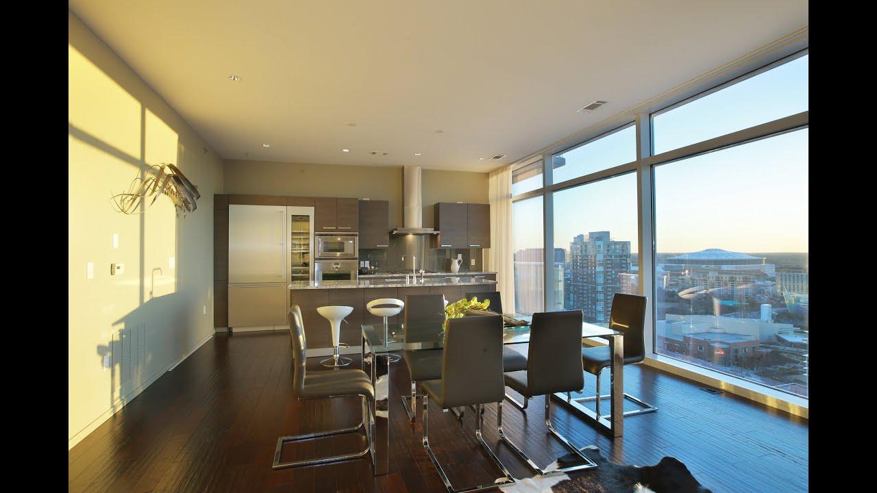 W Atlanta Residences Condominium 2304 Youtube